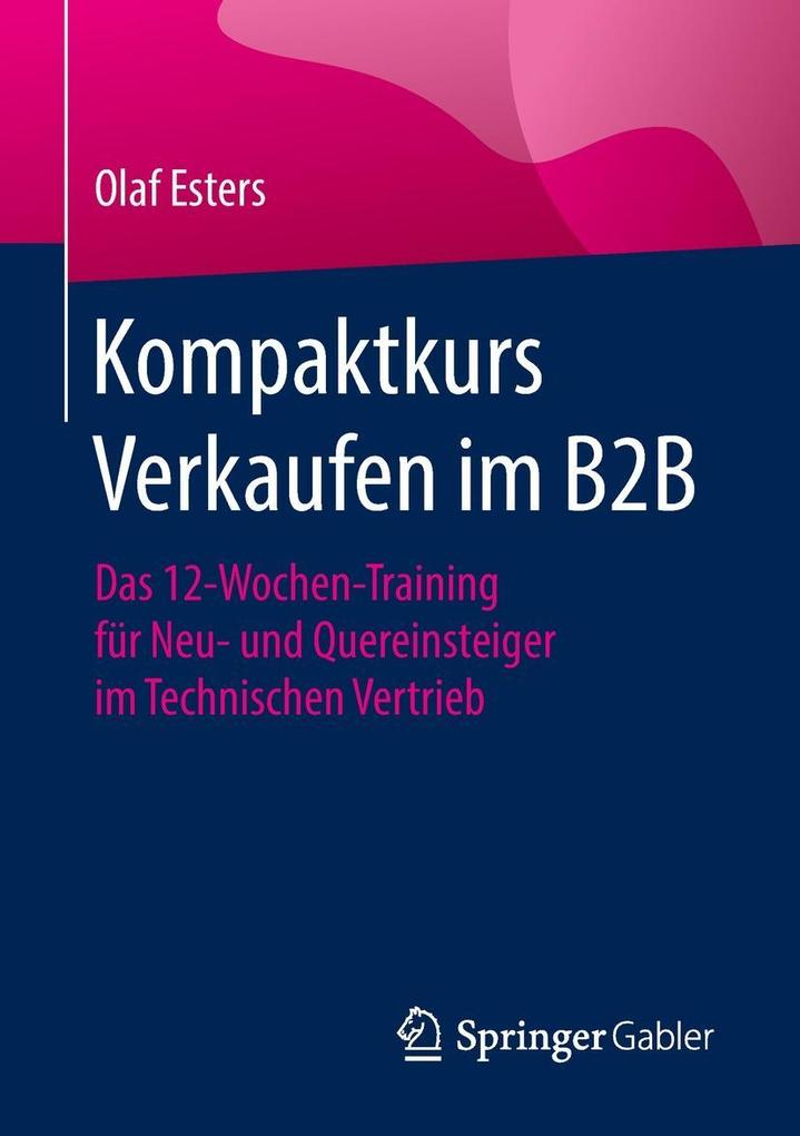 Kompaktkurs Verkaufen im B2B als eBook Download...