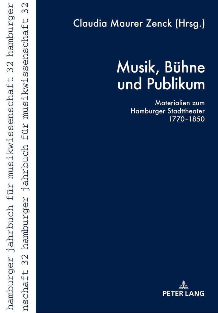 Musik, Bühne und Publikum als Buch von