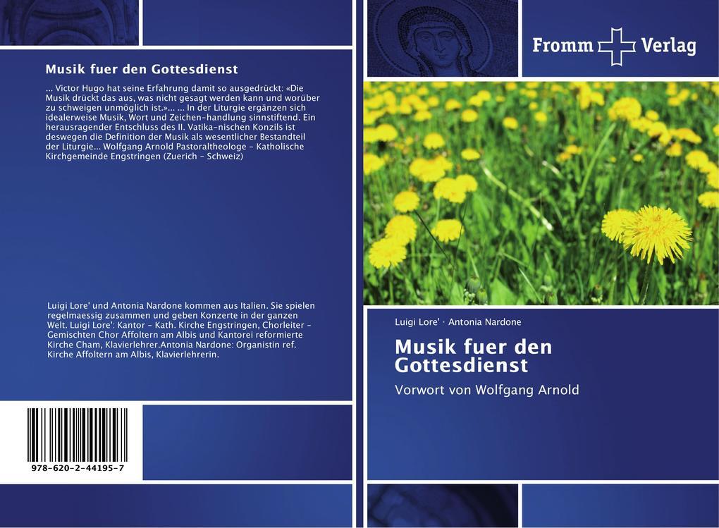 Musik für den Gottesdienst als Buch von Luigi L...