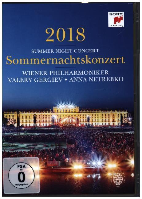 Sommernachtskonzert 2018 / Summer Night Concert 2018 als DVD