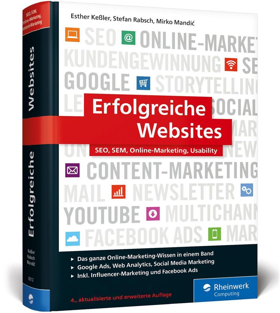 Erfolgreiche Websites als Buch
