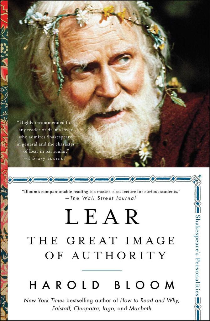 Lear als eBook Download von Harold Bloom