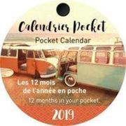 Aquarupella 2019 Lifetime Taschenkalender rund