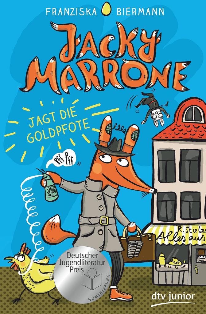 Jacky Marrone jagt die Goldpfote als Buch (gebunden)