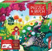 Puzzle und Buch: Rotkäppchen