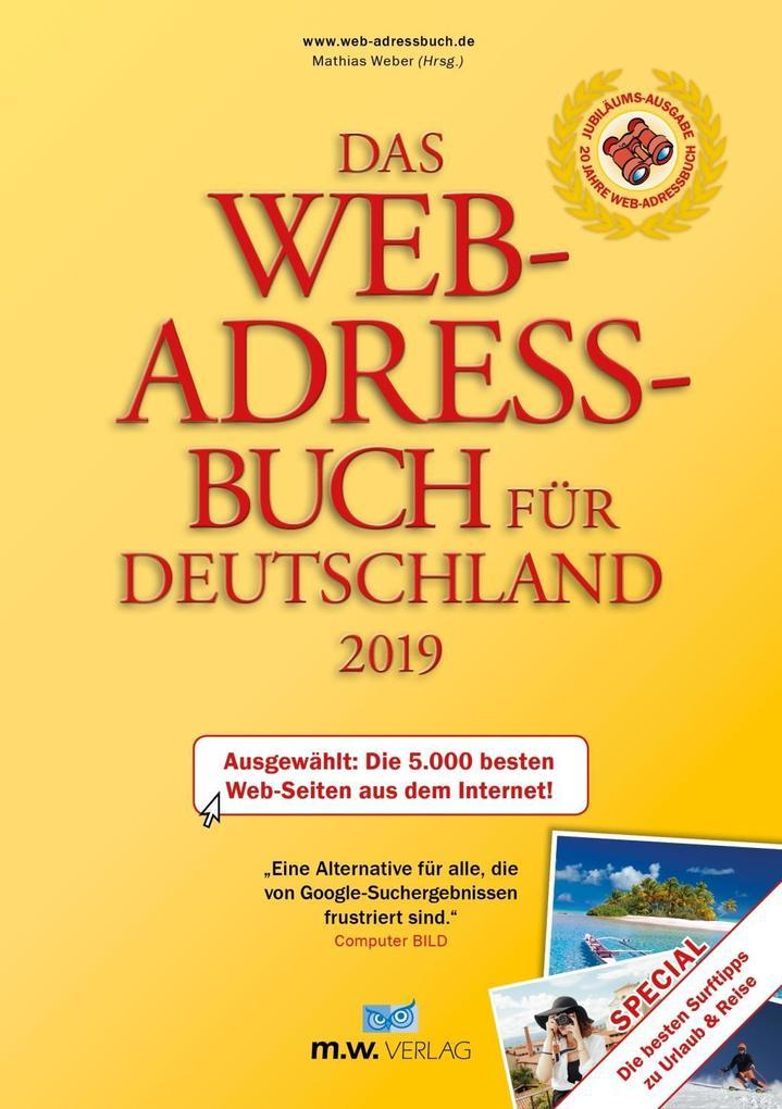 Das Web-Adressbuch für Deutschland 2019 als Buc...