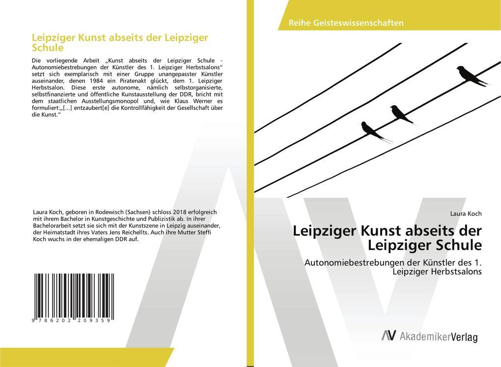 Leipziger Kunst abseits der Leipziger Schule al...