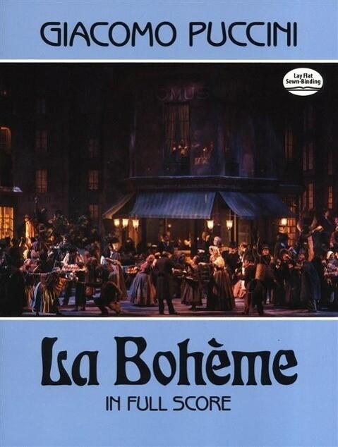 La Bohème in Full Score als Taschenbuch