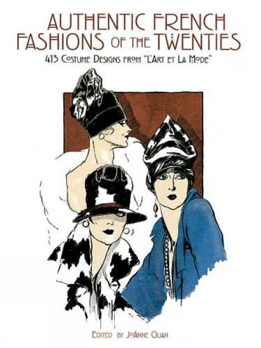 Authentic French Fashions of the Twenties als Taschenbuch