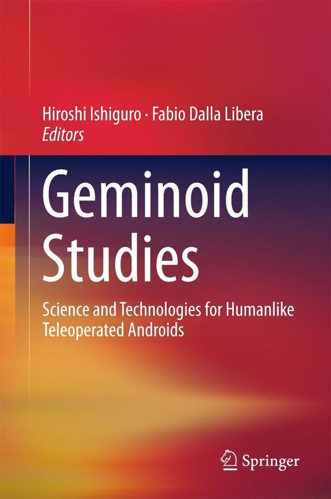 Geminoid Studies als eBook Download von