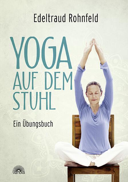 Yoga auf dem Stuhl als Buch