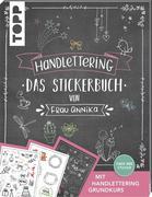 Handlettering. Das Stickerbuch von Frau Annika