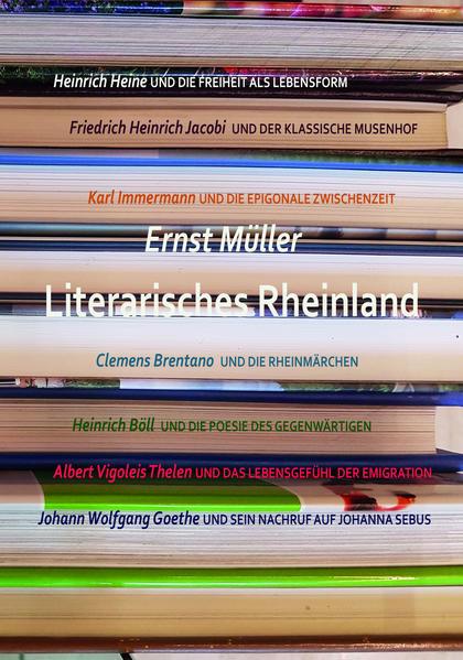 Literarisches Rheinland als Buch von Ernst Müller