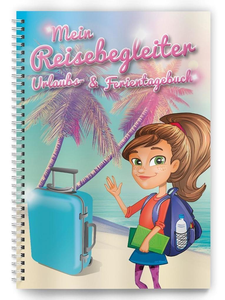 Urlaubs- und Ferientagebuch als Buch von
