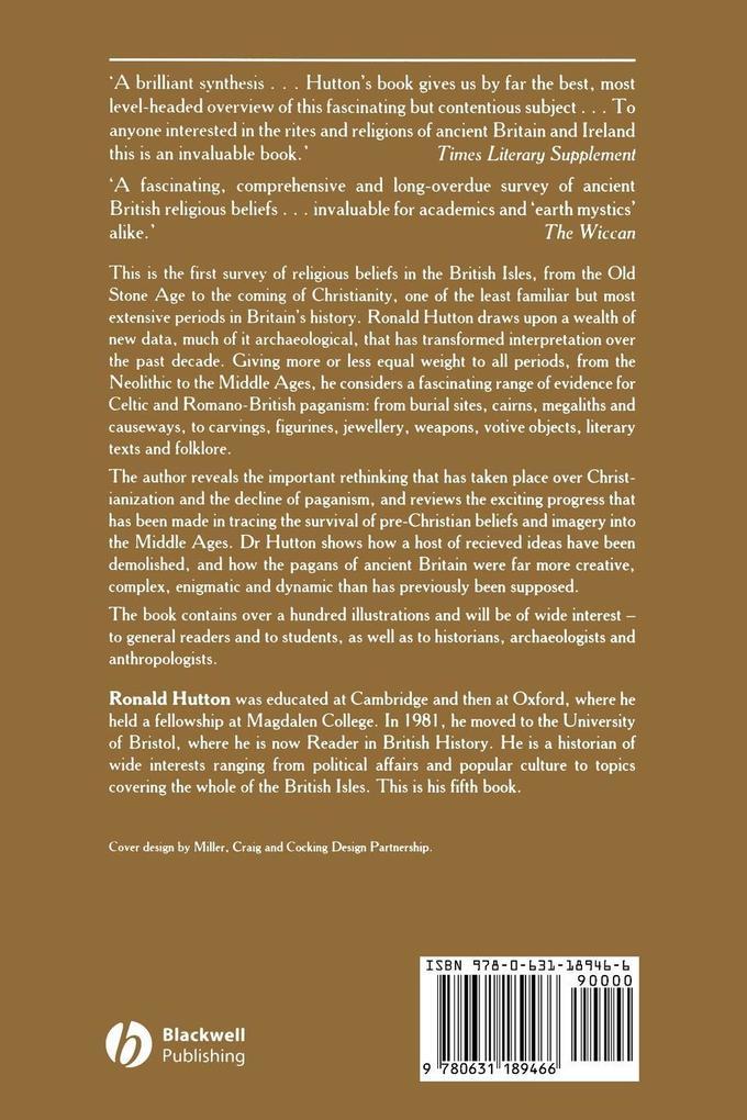 Pagan Religions Ancient British als Buch von Hu...