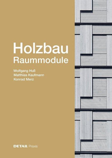 Holzbau -Raummodule als Buch