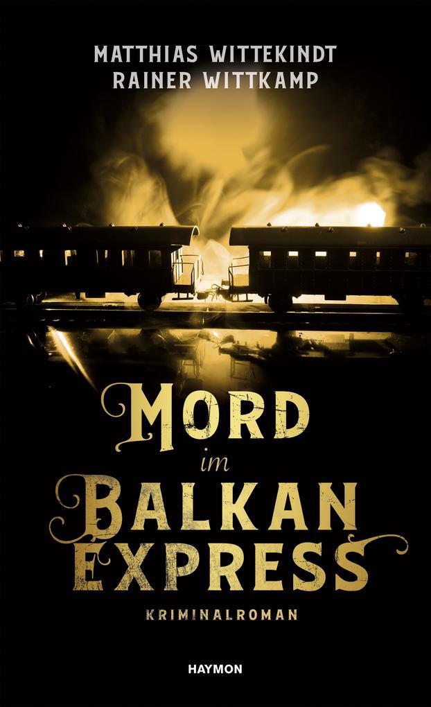 Mord im Balkanexpress als Buch