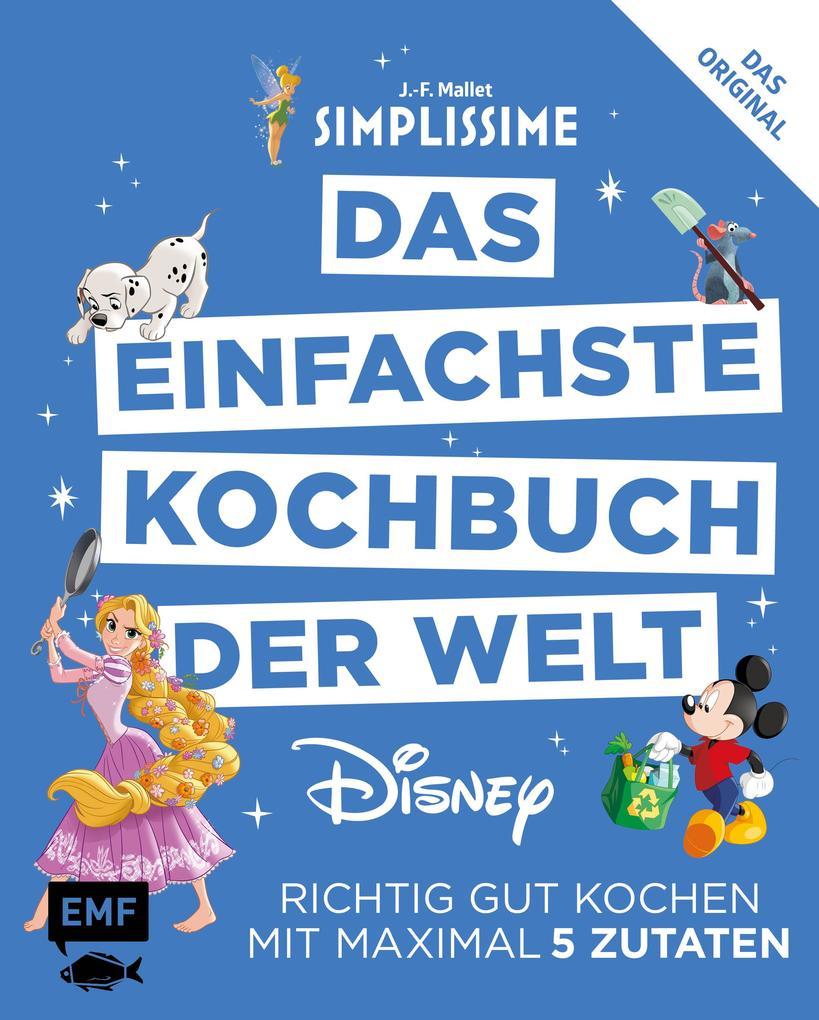 Simplissime - Das einfachste Kochbuch der Welt: Disney als Buch
