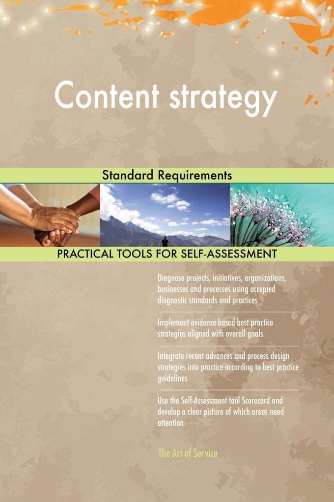 Content strategy Standard Requirements als eBoo...
