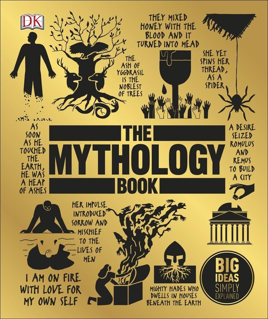 The Mythology Book als eBook Download von
