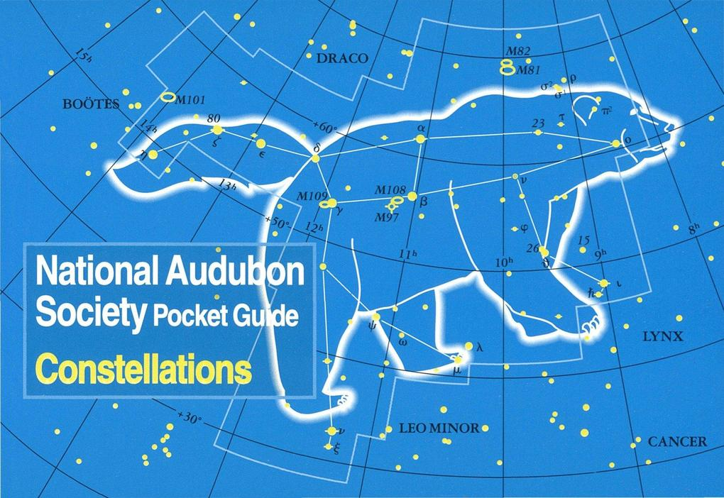 National Audubon Society Pocket Guide to Constellations of the Northern Skies als Taschenbuch