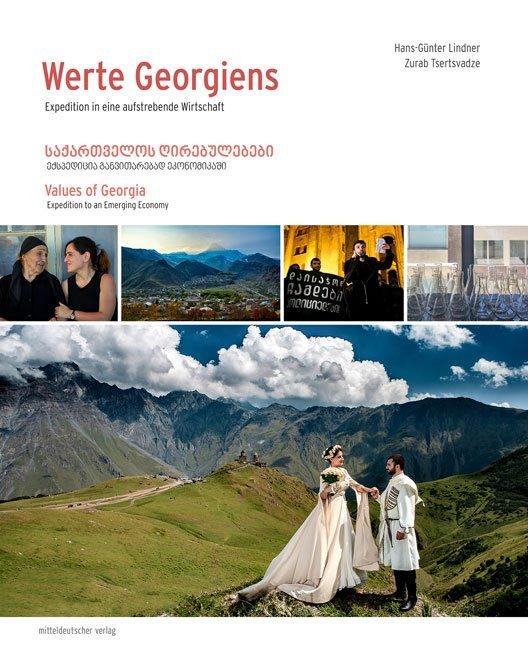 Werte Georgiens als Buch von Hans-Günter Lindne...