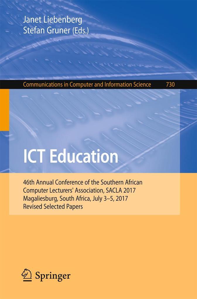 ICT Education als eBook Download von