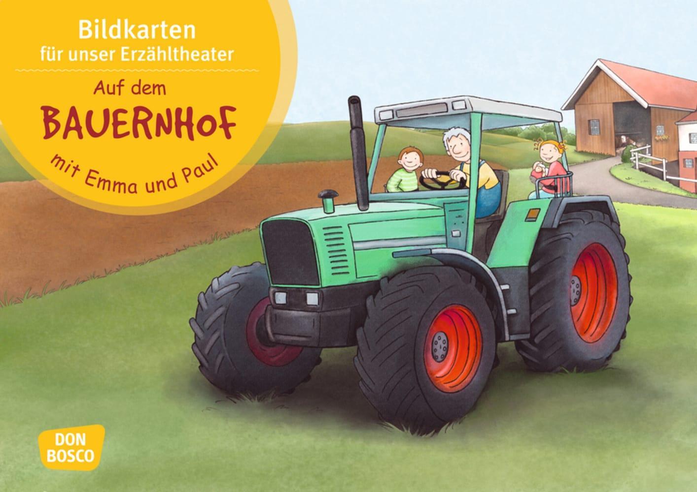 Auf dem Bauernhof mit Emma und Paul. Bildkartenset. als sonstige Artikel