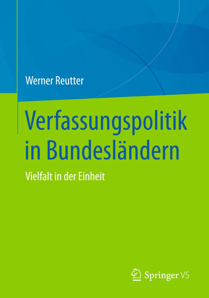 Verfassungspolitik in Bundesländern als Buch vo...