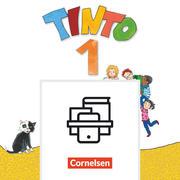 Tinto 1 1. Schuljahr - Buchstabenkurs Druckschrift und Arbeitsheft Schreiben/Lesen im Paket