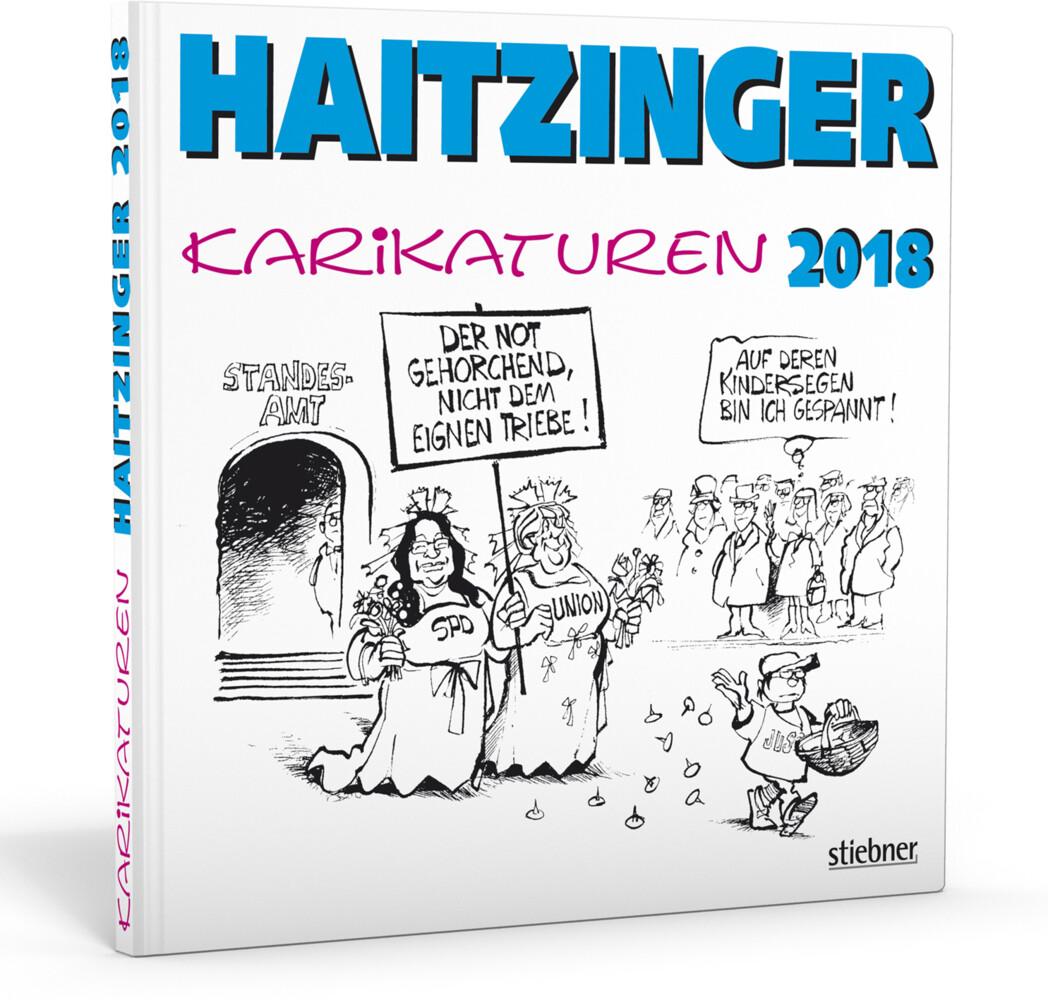 Haitzinger Karikaturen 2018 als Buch