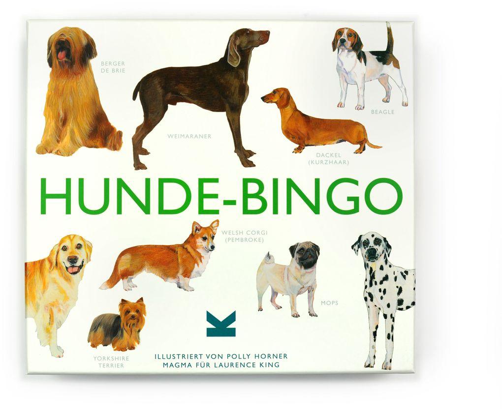 Hunde-Bingo als Spielwaren