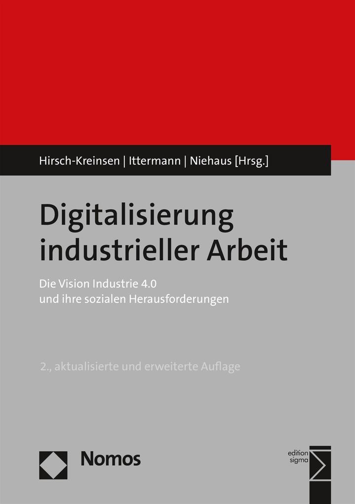 Digitalisierung industrieller Arbeit als eBook ...