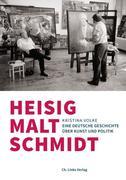 Heisig malt Schmidt