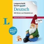 Langenscheidt SprachSticker Deutsch - mit Fotos