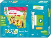 BOOKii Starterset WAS IST WAS Junior Komm mit zu den Pferden und Ponys! Buch + Hörstift