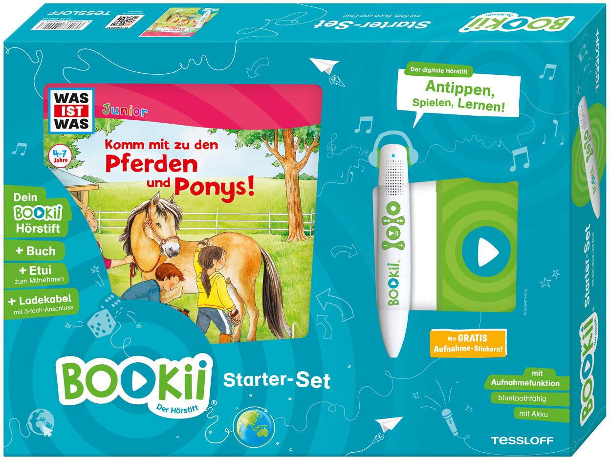 BOOKii Starterset WAS IST WAS Junior Komm mit zu den Pferden und Ponys! Buch + Hörstift als sonstige Artikel