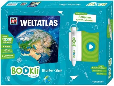 BOOKii Starterset WAS IST WAS Weltatlas! Buch + Hörstift als sonstige Artikel
