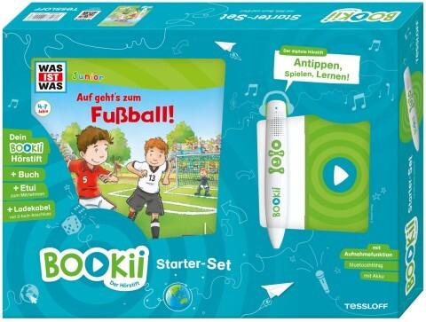 BOOKii Starterset WAS IST WAS Junior Auf geht's zum Fußball! Buch + Hörstift als sonstige Artikel