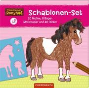 Mein kleiner Ponyhof: Schablonen-Set