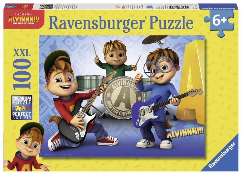 Puzzles & Geduldspiele Puzzles Alvin und die Chipmunks Puzzle 3 X 49 Teile Spiel Deutsch 2018