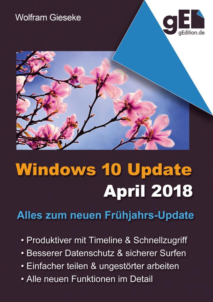 Windows 10 Update April 2018 als eBook