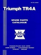 Triumph TR4A Spare Parts Catalogue: 1965-1967