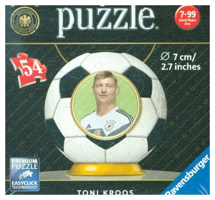 Ravensburger Puzzle - 3D Puzzles - Toni Kroos -...