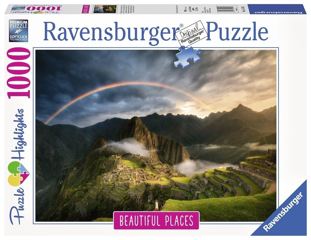 Ravensburger Spiel - Regenbogen über Machu Picchu, Peru, 1000 Teile als sonstige Artikel