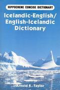 Icelandic-English/English-Icelandic Concise Dictionary