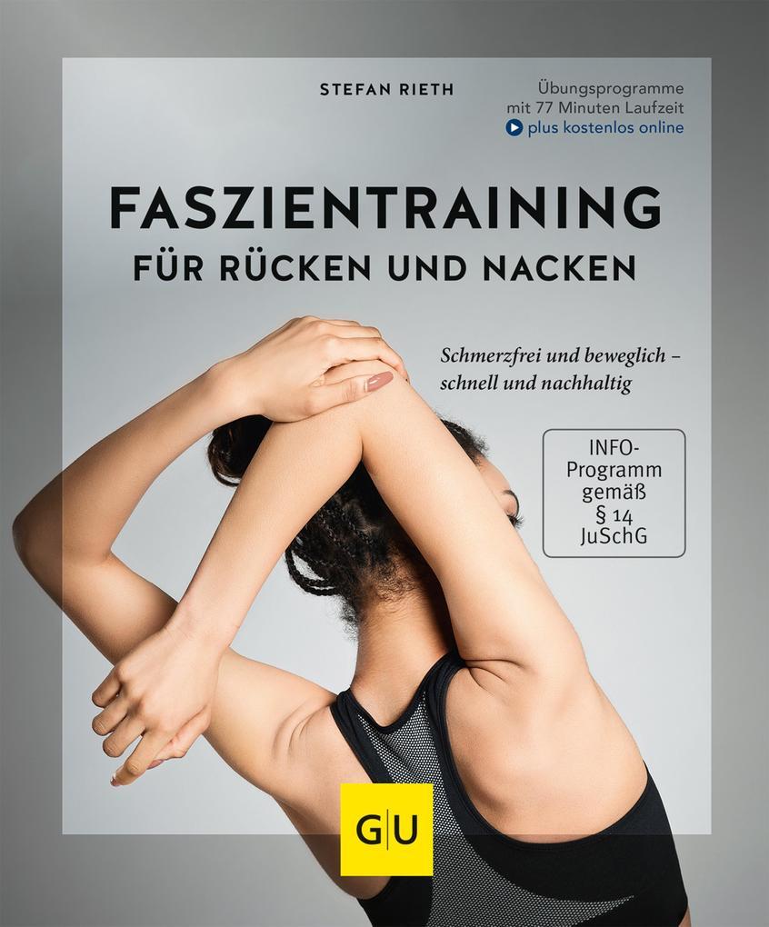 Faszientraining für Rücken und Nacken als eBook