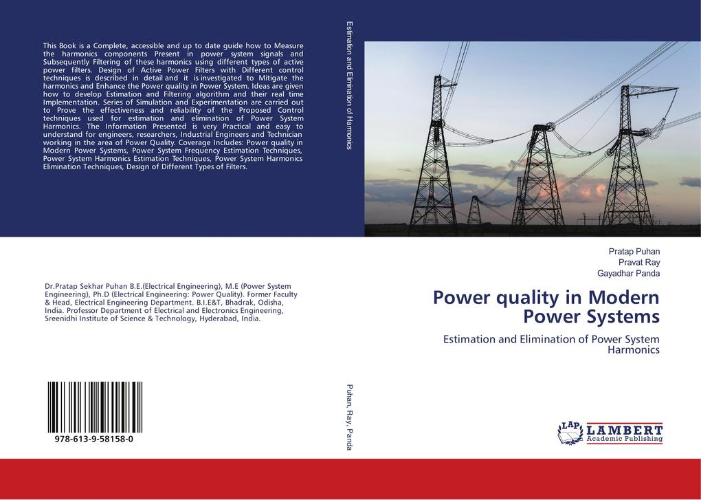 Power quality in Modern Power Systems als Buch ...