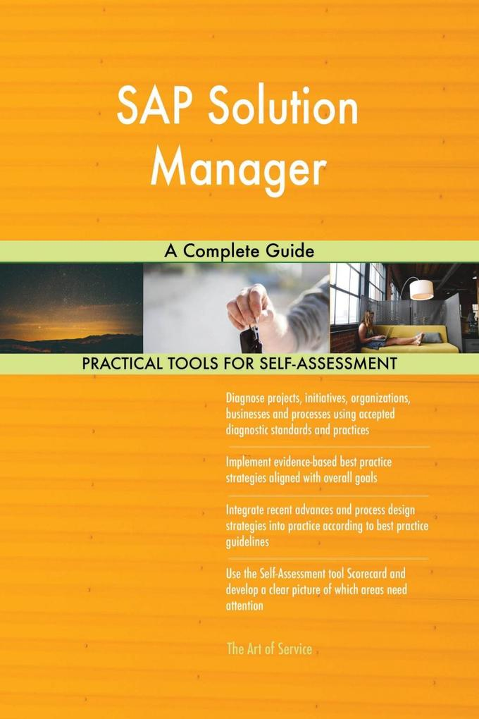 SAP Solution Manager A Complete Guide als eBook...