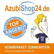 AzubiShop24.de Kombi-Paket Lernkarten Vermessungstechniker/-in